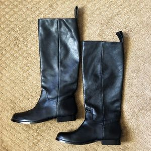 Leon Max Leather Riding Boots - 9M - NWOT